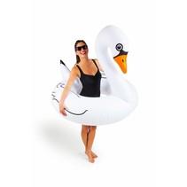 Opblaas Zwaan Zwemband Wit 1,2 meter
