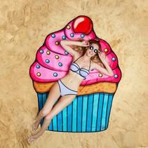 Strandlaken Cupcake 1,5 meter