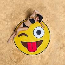 Strandlaken Emoji 1,5 meter