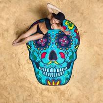 Strandlaken Sugar Skull 1,5 meter