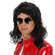 Michael Jackson Pruik Deluxe