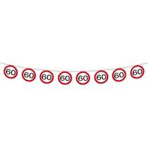 Slingers 60 Jaar Verkeersbord 12 meter