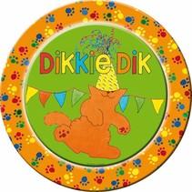 Dikkie Dik Borden 23cm 8 stuks