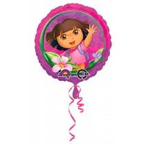 Dora Helium Ballon Restyle 43cm leeg
