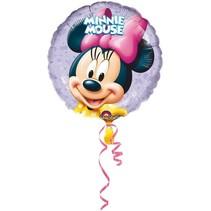 Minnie Mouse Ballon Rond op stokje 30cm
