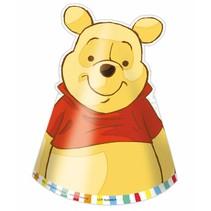 Winnie The Pooh Hoedjes 6 stuks