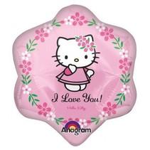 Hello Kitty Ballon op stokje 30cm