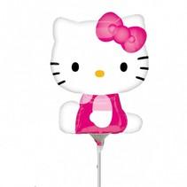 Hello Kitty Ballon Deluxe op stokje 30cm