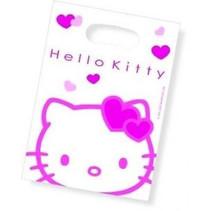 Hello Kitty Uitdeelzakjes Party 6 stuks