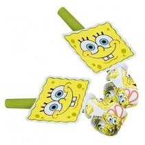SpongeBob Roltongen 6 stuks