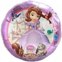 Sofia Het Prinsesje Helium Ballon 43cm leeg