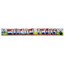 Welkom Thuis Banner 1 meter 5 stuks