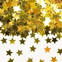 Tafelconfetti Ster Goud 1cm 600 stuks