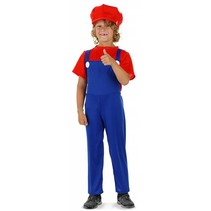 Super Mario Kostuum Kind Deluxe