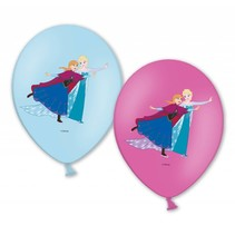Frozen Ballonnen 28cm 6 stuks