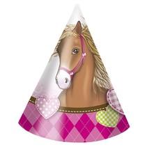 Paarden Hoedjes Versiering 6 stuks