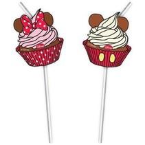 Minnie Mouse Rietjes Café 6 stuks
