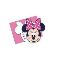 Minnie Mouse Uitnodigingen Dots 6 stuks