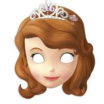Sofia Het Prinsesje Maskers 6 stuks