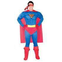 Superheld Kostuum M/L