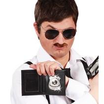 Politie Badge met ID houder 19cm