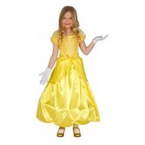 Prinsessenjurk Geel Kind