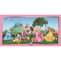 Disney Prinsessen Poster Dieren 1,50 meter