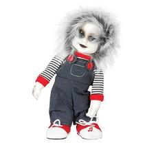 Halloween Pop Chucky met geluid en beweging 32cm