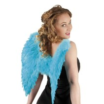 Engelen Vleugels Turquoise 50cm