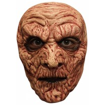 Halloween Masker Mummy Bruin Deluxe voorkant