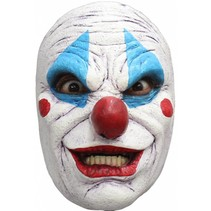 Halloween Masker Clown Deluxe voorkant