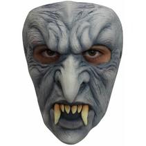 Halloween Masker Vampier Angry Deluxe voorkant
