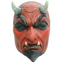 Halloween Masker Duivel Deluxe voorkant