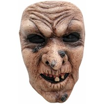 Halloween Masker Heks Deluxe voorkant