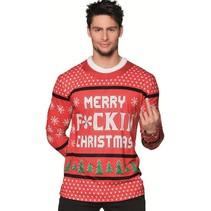 Kerst Shirt Merry F*ckin' Christmas
