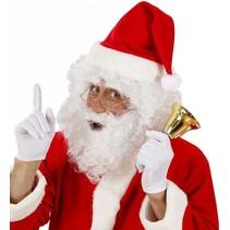 Kerstman Baard met pruik en wenkbrauwen