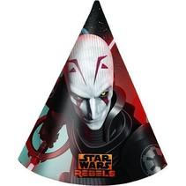 Star Wars Rebels Hoedjes 6 stuks