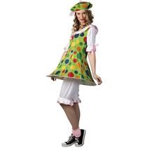 Clownspak Dames medium