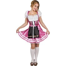 Oktoberfest Jurk Roze