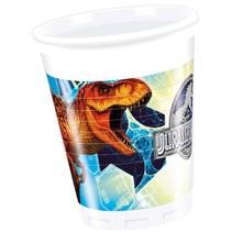 Jurassic World Bekers 200ml 8 stuks