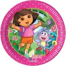 Dora Gebaksbordjes 20cm 8 stuks