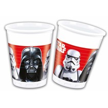 Star Wars Bekers 200ml 8 stuks