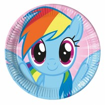 My Little Pony Borden Versiering 23cm 8 stuks