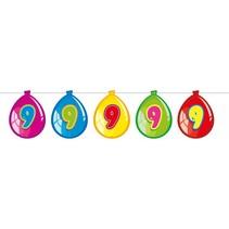 Slingers 9 Jaar Ballonnen 10 meter