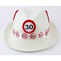 Hoed 30 Jaar Verkeersbord