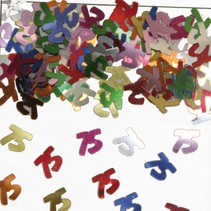 Tafelconfetti 75 Jaar 1cm 600 stuks