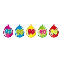 Slingers 90 Jaar Ballonnen 10 meter