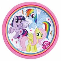 My Little Pony Gebaksbordjes 18cm 8 stuks