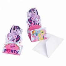 My Little Pony Uitnodigingen 8 stuks