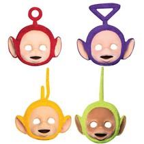 Teletubbies Maskers 4 stuks